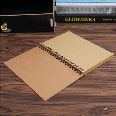 NEW Reeves Hard Back Spiral Bound Coil Sketch Book Blank Sketching Paper STAR