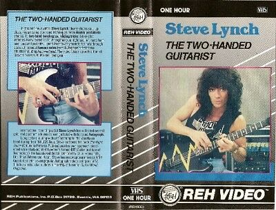 steve lynch the two handed guitarist reh instructional dvd yngwie malmsteen