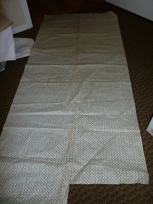 Antique Shirting Fabric **brown Stripe**