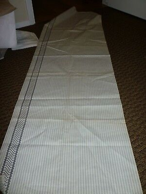 Antique Shirting Fabric **fancy Edge**