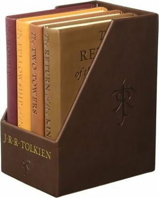 The Hobbit and the Lord of the Rings - Deluxe 4 Book Set