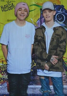 BARS AND MELODY - A2 Poster (XL - 42 x 55 cm) - Clippings & Fan Sammlung NEU