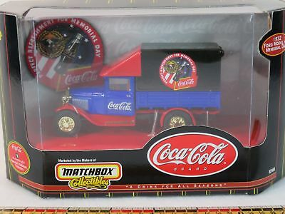 Matchbox Coca Cola 1932 Ford Model AA Delivery Truck #4 Coke 1:43 Scale NIB 1999