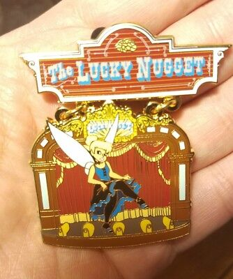Gourmet Pin Trading Event DLP Tinker Bell Lucky Nugget Disney Pin 600 numbered