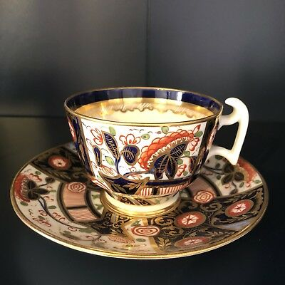 Crown Staffordshire Imari Cup And Saucer
