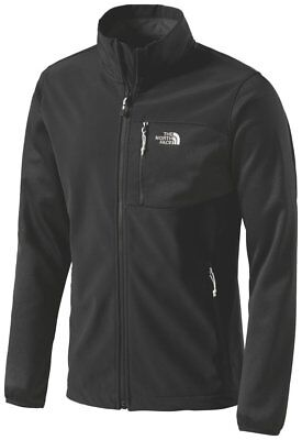 The NORTH FACE Herren Softshell JACKE Gr S 44 46 BLACK Shell Hybrid Fleece Apex