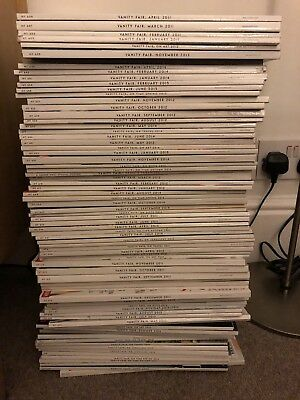 Vanity Fair magazines (from 2010 to 2016)