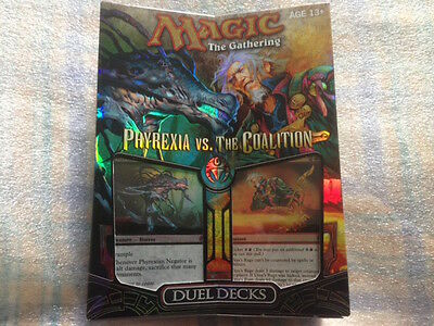 Magic the Gathering Duel Deck Phyrexia vs. Coalition - OVP - Neuware - sealed