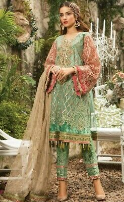 Heavy Bridal Velvet Shawl Suit 2018 Wedding Collection Pakistani Shalwar Kameez