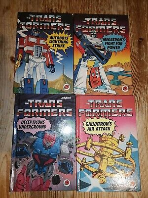 Transformers G1 ladybird books