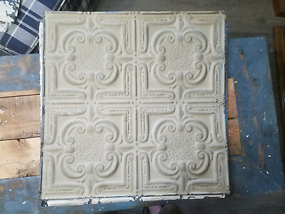 Vintage 24x24in Ceiling Tin