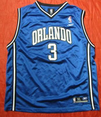 Steve Francis  3 ORLANDO MAGIC jersey shirt REEBOK NBA SIZE XL.Boys (M 542c93c18