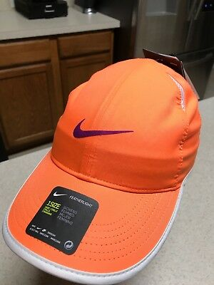 398675a502e Women s Nike Dri-Fit Aerobill Adjustable Cap Orange 679424-867 Featherlight