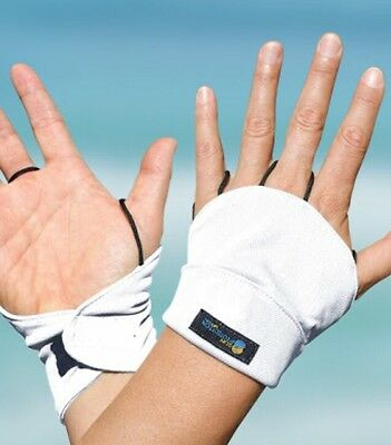 Palmless Gloves UPF50+ WHITE Sun Protection