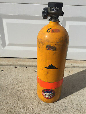 Scott Breathing Air Tank Cylinder 2216 PSI w/ Valve