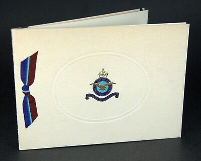 Vtg WW2 Royal Canadian Air Force Christmas/ New Years Card Original RCAF Uplands