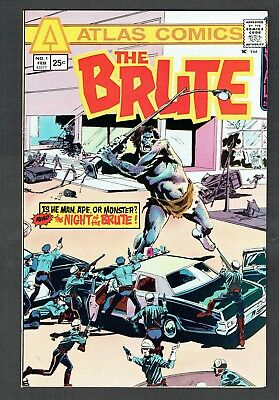 The Brute #1 Atlas Seaboard Comics Bronze Age 1975 NM- Very Rare High Grade Copy