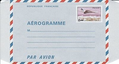 CC225) Aerogramme From Potez 25 To CONCORDE