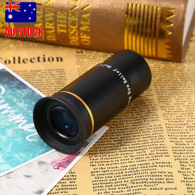 "1.25"" Ultra Wide Angle Series Eyepiece Lens 66-Deg Multi-coated ES for Telescope"