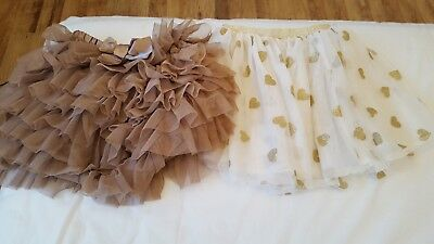 H&M and Tkmaxx girl skirts size 3-4 years