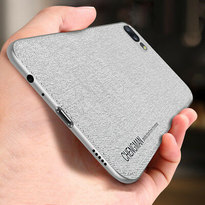 For OnePlus 5 5T 6 6T Shockproof Hybrid Soft TPU Fabric Case Magnetic Cover