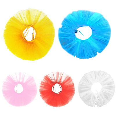 Children Girl Ballet Dance Costume Tutu Skirt Candy Solid Color Mini Dress Party