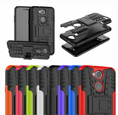 For LG X Power 3 Case, Shockproof Armor Hybrid Kickstand Protective Phone Cover