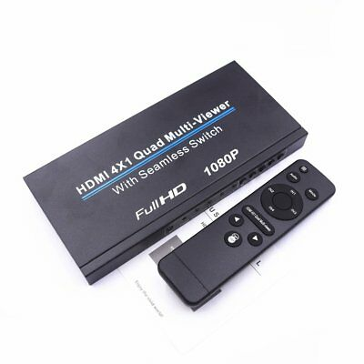 HDMI 4x1 Quad Multi-viewer With Seamless Switch