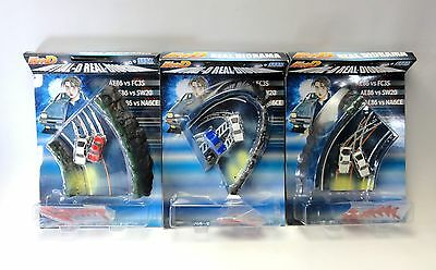 INITUAL D REAL DIORAMA Complete Set of 3 SEGA JAPAN
