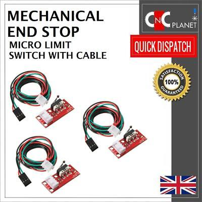 Mechanical End stop Limit Switch with cable for RAMPS 1.4 for 3D Printer Reprap