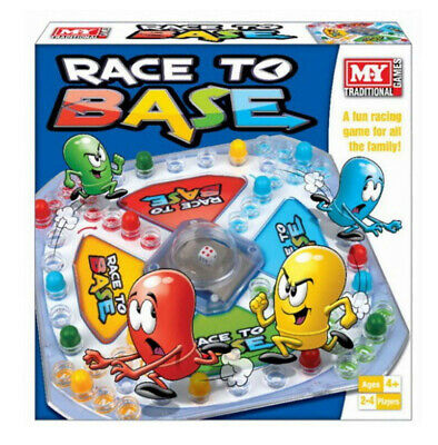 Race To Base Pop A Dice Frustration Family Fun Kid My Board Traditional Game New