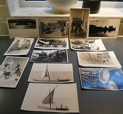 Selection Of 13 1950-60S Original Persian Middle Eastern Photographs