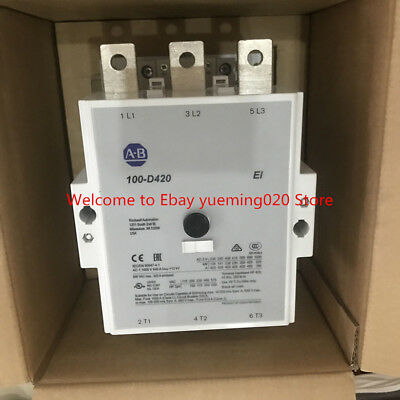 Ship dhl , AB Allen Bradley 100-D420EA00 Contactor ,New in box
