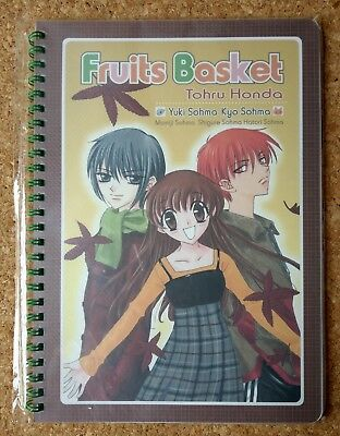 Japan Movic FRUITS BASKET RING NOTEBOOK B5 natsuki takaya furuba manga anime