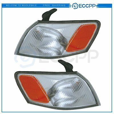 TO2530126 TO2531126 Pair Corner Light Signal Lamps For 97-99 Toyota Camry