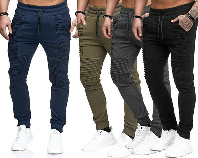 Homme Hip Hop Rayé Pantalons Sportspants Fitness jogging Couleur Unie  Trousers c8ddb7553af