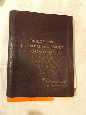 1937 Dunlop tyre and general accessory catalogue, SKF Sales Catalogues handbooks