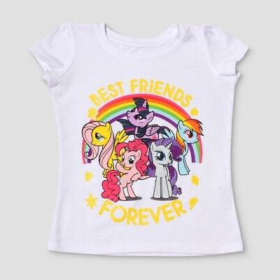 Toddler Girls My Little Pony Best Friends Forever Shirt Size 4T New with Tags!!