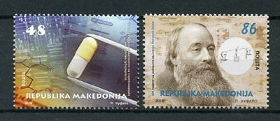 Macedonia 2018 MNH Science & Discovery James Prescott Joule 2v Set Stamps