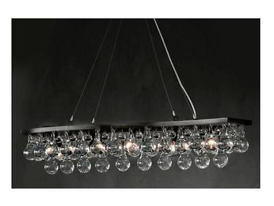 Ochre - Artic Pear Wave Chandelier 100cm (Patinated Bronze)
