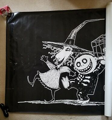 Nightmare Before Christmas Lock, Shock and Barrel  1993 Theater Banner