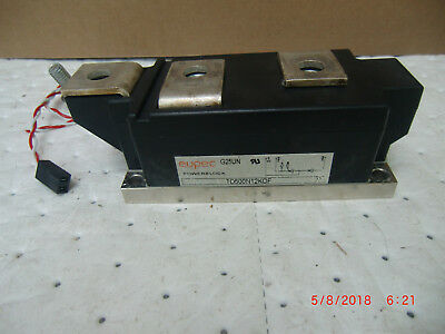 Eupec Diode/scr Power Block, P/n:td500N12Kof W/t Connecting Gate Cable