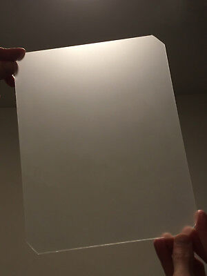 8x10 GROUND GLASS FOCUS SCREEN FOR LARGE FORMAT CAMERAS- BRIGHT + SHARP