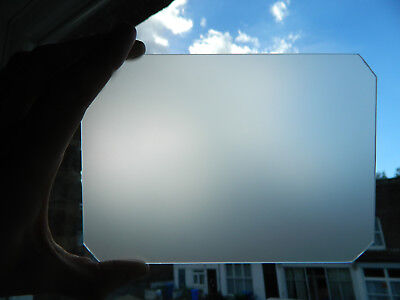5X7 Ground Glass Focus Screen For Large Format Cameras-Bright + Sharp