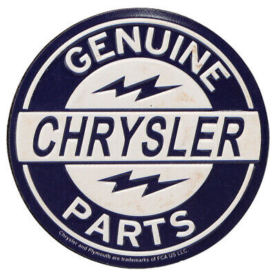 Chyrstler Genuine Parts Embossed Metal Magnet