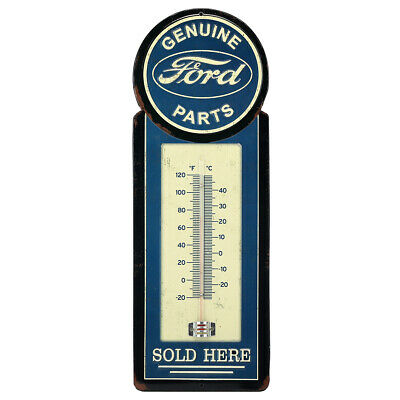 Ford Metal Thermometer