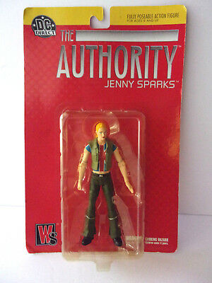 Dc Direct The Authority Jenny Sparks Action Figure `new In Sealed Package