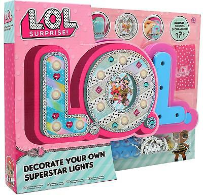 L.O.L.Surprise Decorate Your Own Light Kids Night Light Glitterati Dolls Series