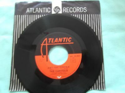 The Capitols - Soul brother soul sister - Vinyl Single SOUL