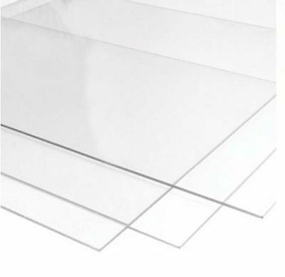 2.0 mm Ultra-Transparent Acrylic Plexiglass Photo Size Sheet Replacement Glass